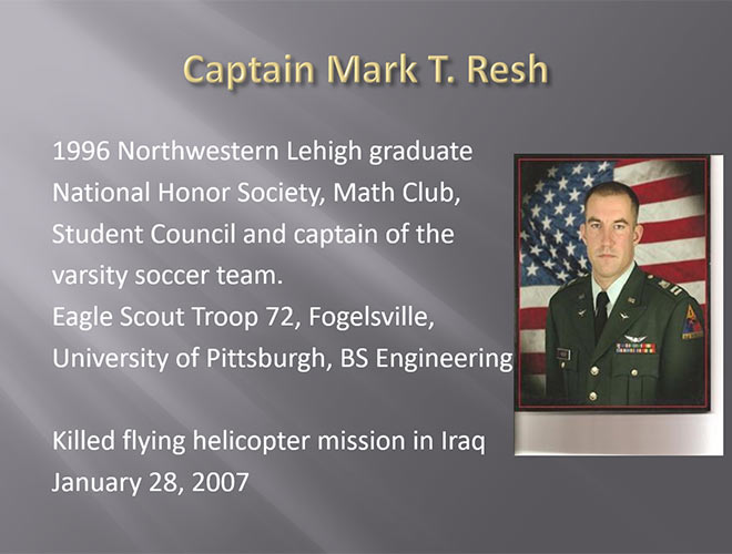 Captain Mark T. Resh