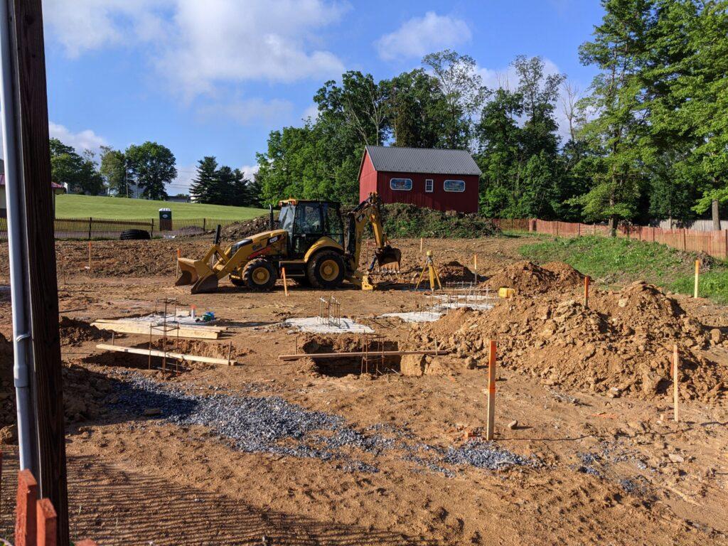Construction Site, Bulldozer