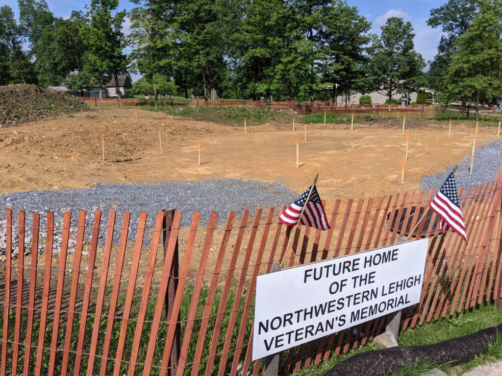 Future Home of the Nortwestern Lehigh Veteran's Memorial