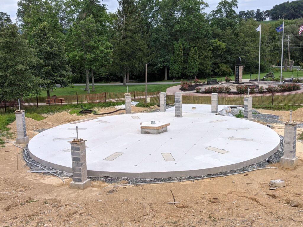 Memorial Progress - August 2021